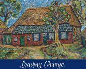 Leading change.